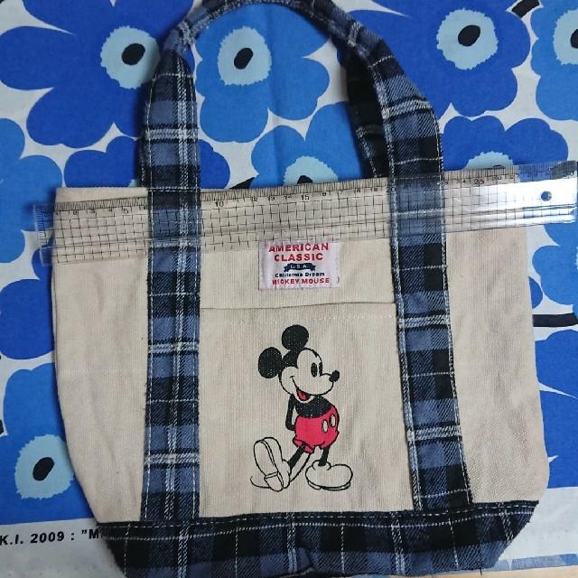 Disney(ディズニー)のしまむら ミッキーバッグ レディースのバッグ(トートバッグ)の商品写真
