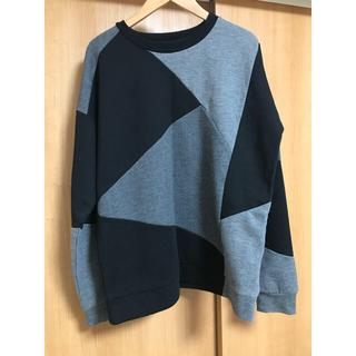 antiqua - osmosis シャツ ケーブル編みニット デザインTシャツ アンティカ スライ