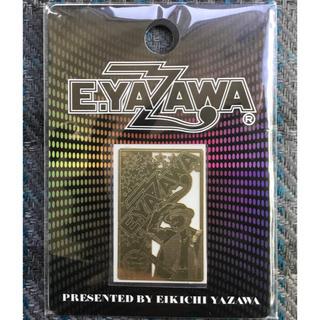 ヤザワコーポレーション(Yazawa)の矢沢永吉 E.YAZAWA デコメタステッカー ロゴシルエット 金 ゴールド(ミュージシャン)