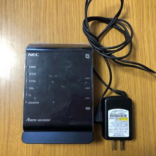 エヌイーシー(NEC)のWi-Fi 無線 ルーター*NEC*Aterm WG1200HP*中古(PC周辺機器)