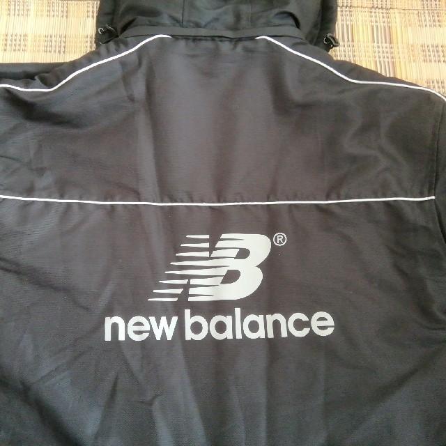 New Balance(ニューバランス)のベンチコート、ニューバランス黒Sサイズ スポーツ/アウトドアのランニング(ウェア)の商品写真