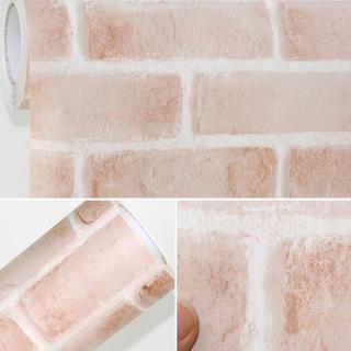 壁紙シール レンガ DBS-23 50cm×3m はがせる壁紙 シールタイプ