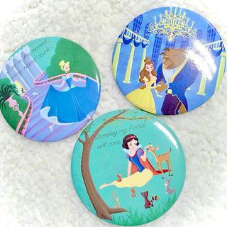 Disney - Disney Princess / BIG缶バッチ セット