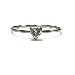 PT ハートダイヤモンドリング(リング(指輪))