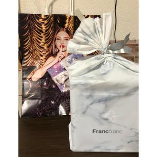 Francfranc - フランフラン  シェルランプ 白