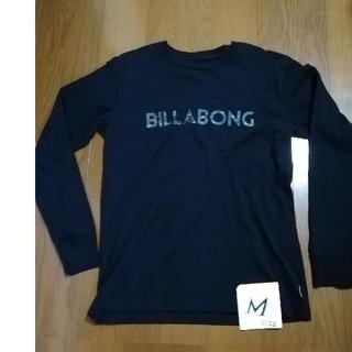 billabong - BILLABONG  サイズM カモ柄ロゴロンT 黒M 未使用タグ付