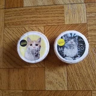 猫のマスキングテープ