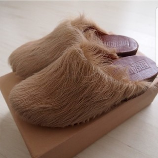 IENA SLOBE - 新品SLOBE IENA スローブイエナ購入 BOSABO ボサボ ハラコサボ靴