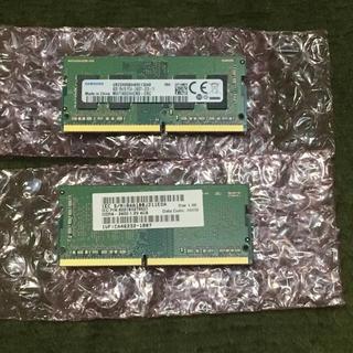 SAMSUNG - PC用メモリ PC4-19200 DDR4-2400 SDRAM 4GBx2枚