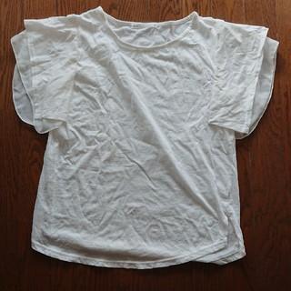 イッカ(ikka)の半袖白いブラウス(シャツ/ブラウス(半袖/袖なし))