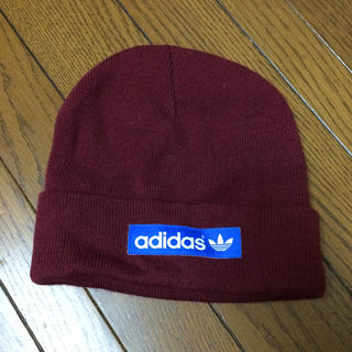 アディダス(adidas)のadidas♥️ニット帽(ニット帽/ビーニー)