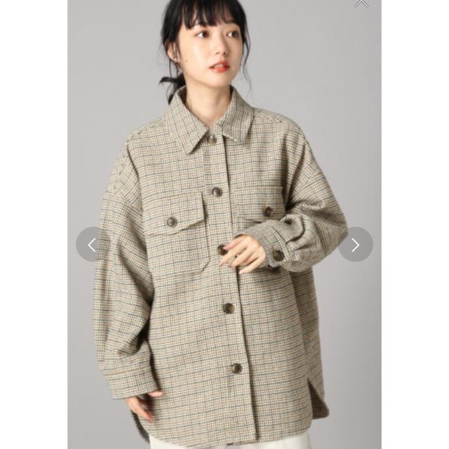LOWRYS FARM(ローリーズファーム)のチェックCPOジャケット メンズのトップス(シャツ)の商品写真