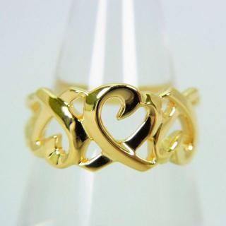 ティファニー(Tiffany & Co.)のティファニー 750 トリプルラビングハート リング 10号[g98-2](リング(指輪))