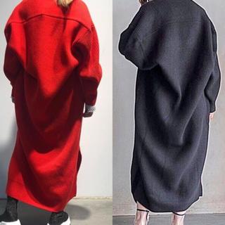 ENFOLD - ナゴンスタンス FINE WOOL V BACK DRAPE DRESS