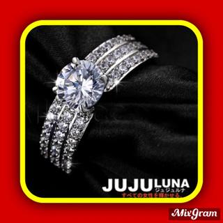 スワロフスキー(SWAROVSKI)の✨定価6580円✨★SWAROVSKI★ お洒落可愛い 指輪 ゴージャスリング(リング(指輪))