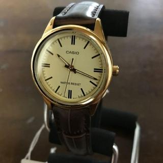 CASIO - 【新品】カシオ CASIO クオーツ 腕時計 LTP-V005GL-9A