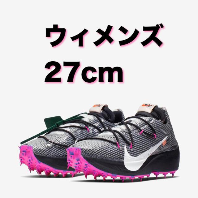 NIKE(ナイキ)のナイキ オフホワイト 即日配送ヴェイパーストリート ウィメンズサイズ 27センチ レディースの靴/シューズ(スニーカー)の商品写真