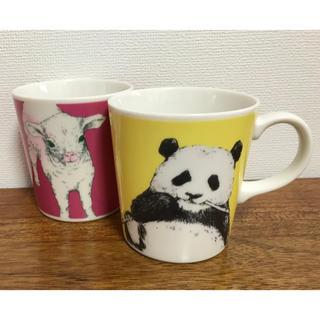 アフタヌーンティー(AfternoonTea)のAT アフタヌーンティー パンダと羊のマグカップ 送料無料(食器)