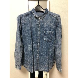 ジーユー(GU)のGU レディースシャツ(Tシャツ(長袖/七分))