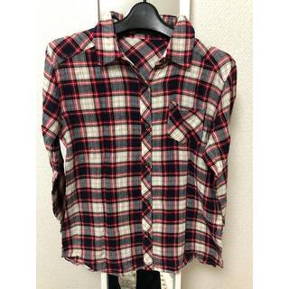 アベイル(Avail)の[アベイル]チェックシャツ(Tシャツ(長袖/七分))