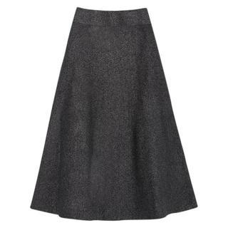 ZARA - ZARA ニット スカート ロングスカート