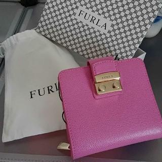 Furla - FURLA   ピンク折り財布