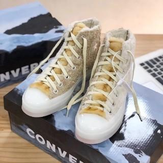 CONVERSE - CONVERSE X CLOT スニーカー 大人気 冬 23.5