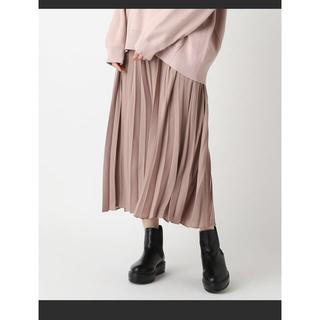 mystic - プリーツロングスカート