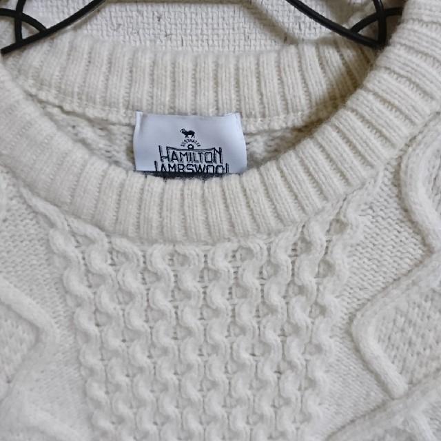 green label relaxing(グリーンレーベルリラクシング)のグリーンレーベルハミルトンウール セーター レディースのトップス(ニット/セーター)の商品写真
