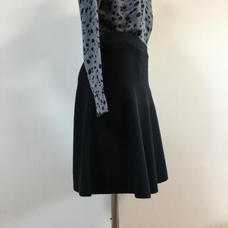 スコットクラブ(SCOT CLUB)の新品 Zut en L I fe ニットフレアスカート(ひざ丈スカート)