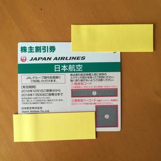 JAL(日本航空) - JAL株主割引券 1枚