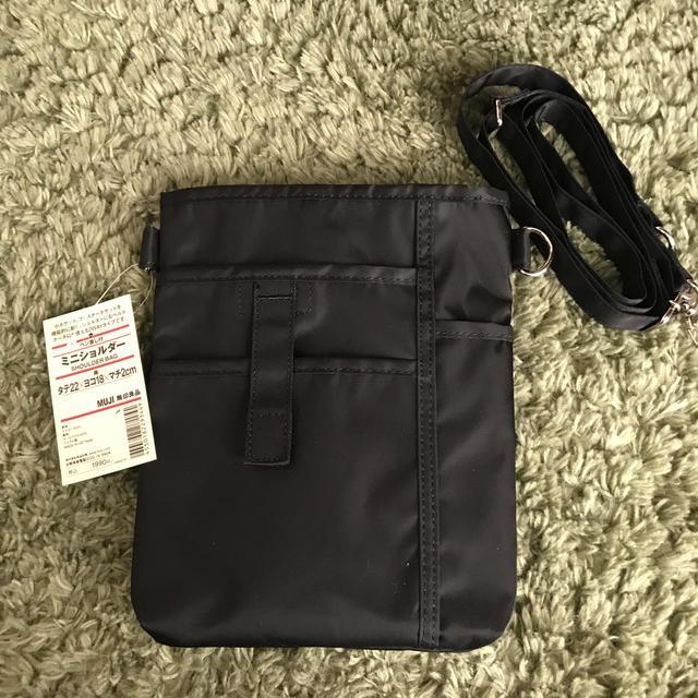 MUJI (無印良品)(ムジルシリョウヒン)の無印良品 ミニショルダーペン差し付 レディースのバッグ(ショルダーバッグ)の商品写真