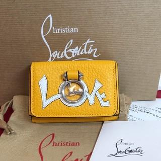 Christian Louboutin - 未使用 ルブタン 2018年限定 折財布
