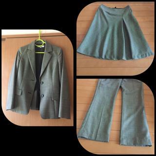 ナチュラルビューティーベーシック(NATURAL BEAUTY BASIC)のスーツ 3点セット/ジャケットS /パンツ&スカートM(スーツ)