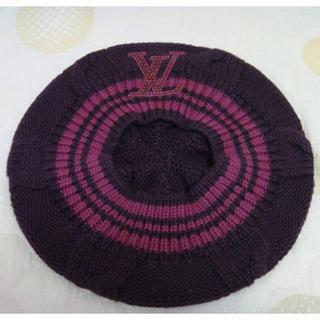 ルイヴィトン(LOUIS VUITTON)のLOUIS VUITTON★ニットベレー帽(ハンチング/ベレー帽)