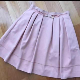 レッセパッセ(LAISSE PASSE)のレッセパッセ  リボン スカート(ひざ丈スカート)