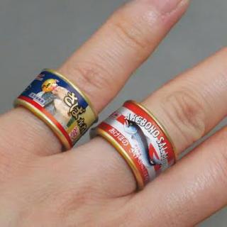 サバのカレー煮 指輪(リング(指輪))
