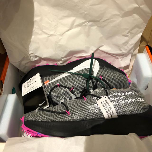 NIKE(ナイキ)のNIKE Off-White vapor street Black メンズの靴/シューズ(スニーカー)の商品写真