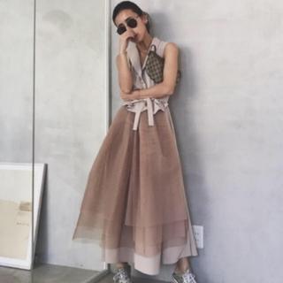 Ameri VINTAGE - Ameri チュールドッキングドレス
