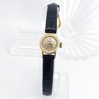 ロレックス(ROLEX)の【OH済/仕上済】ロレックス オーキッド K18 レディース ゴールド 腕時計(腕時計)