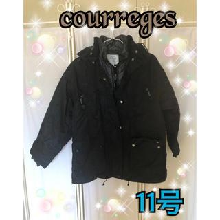 クレージュ(Courreges)のクレージュ アウター  防寒具 二枚重ね 取り外し可能(ブルゾン)
