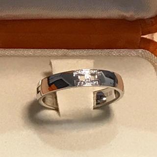 エルメス(Hermes)のエルメス ダイヤ11P ヘラクレス リング 50 WG 指輪 クリスマス(リング(指輪))