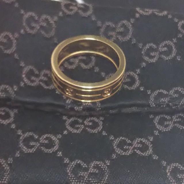 Gucci(グッチ)の年末値下げ!GUCCI リング K18 18K 750 レア メンズのアクセサリー(リング(指輪))の商品写真