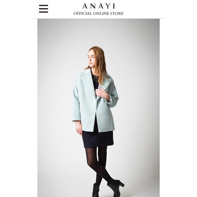 ANAYI(アナイ)のANAYI アナイ ウール コート レディースのジャケット/アウター(その他)の商品写真