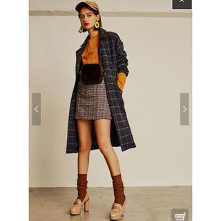 レディアゼル(REDYAZEL)のREDYAZEL ツイード台形ミニスカート(ミニスカート)