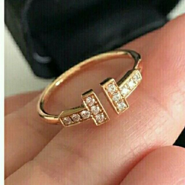 Tiffany & Co.(ティファニー)の美品Tiffany&Co ティファニー リング指輪 レディース 正規品 レディースのアクセサリー(リング(指輪))の商品写真