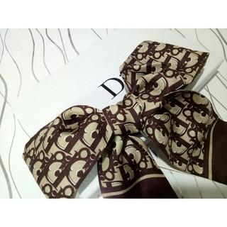 クリスチャンディオール(Christian Dior)のChristianDior スカーフ 美品 綺麗な物(バンダナ/スカーフ)