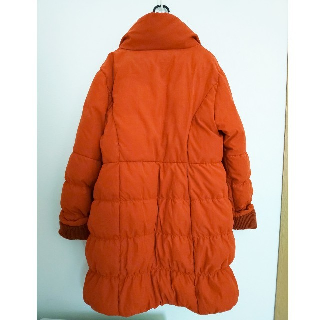 スポーティフ ダウンコート サイズ6 L テラコッタ レディースのジャケット/アウター(ダウンコート)の商品写真