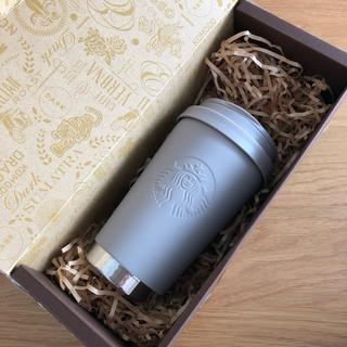 Starbucks Coffee - スターバックス ステンレス ToGo ロゴタンブラー マットグレージュ スタバ