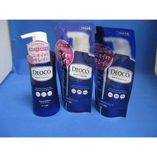 ロートセイヤク(ロート製薬)のロート DEOCO デオコ 薬用ボディソープ ボディクレンズ 本体+詰替2個(ボディソープ / 石鹸)